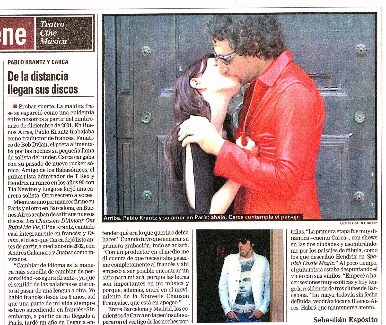Diario La Nacion, Argentina, 2004