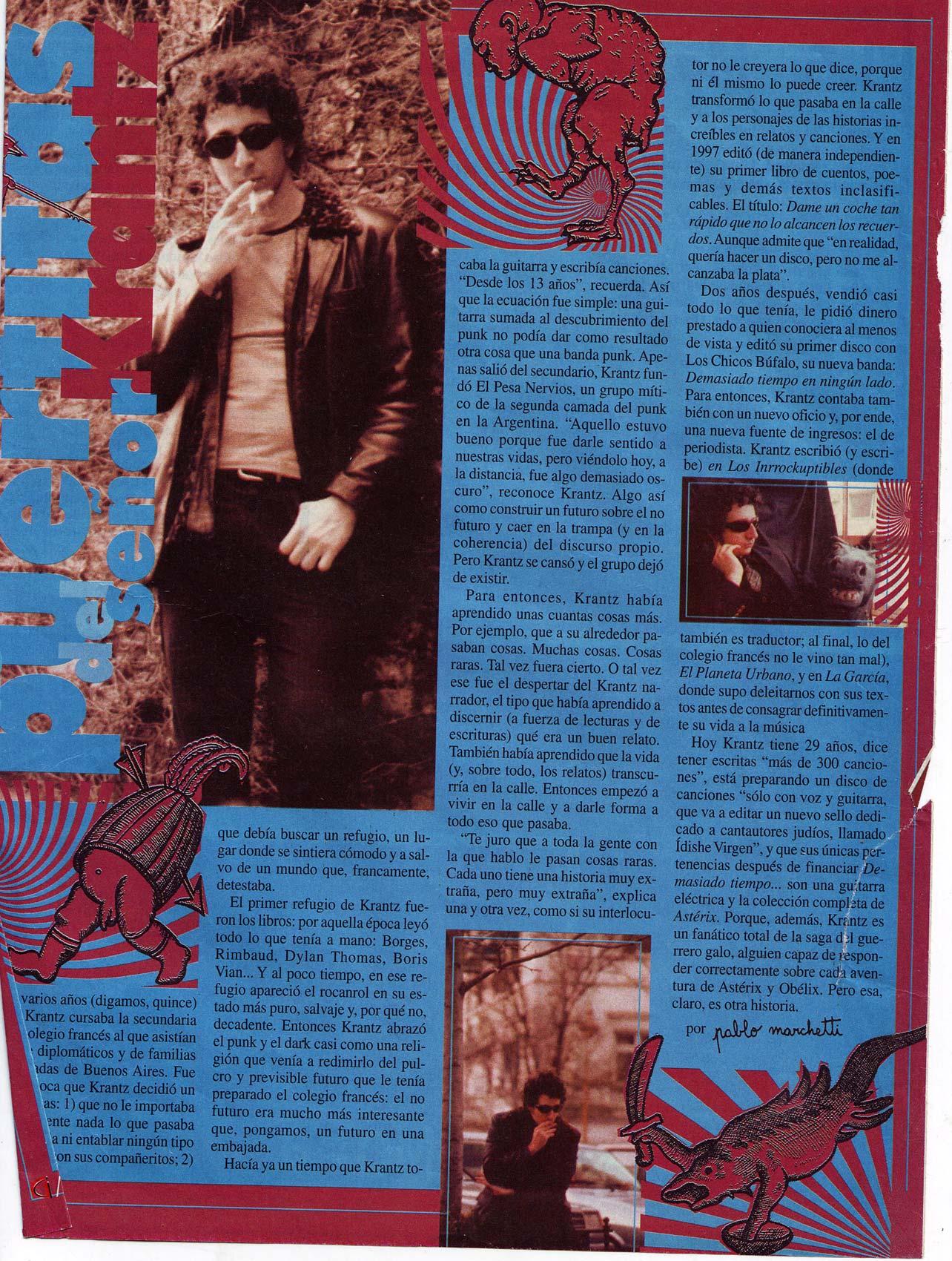 Revista La Garcia, Argentina, 1999