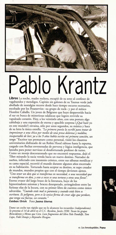 Revista Los Inrockuptibles, Argentina, 1997