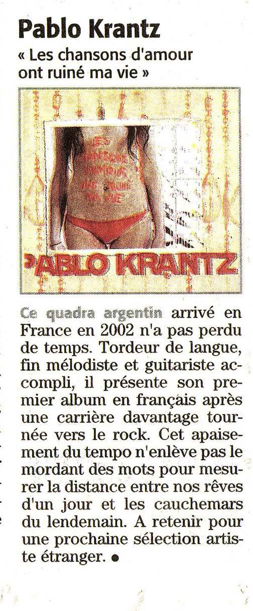 Diario Midi Libre, Francia, 2007