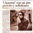 Diario El Pais, Uruguay, 2008