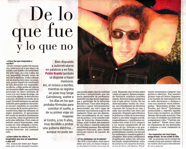 Diario La Nacion, Argentina, 2011