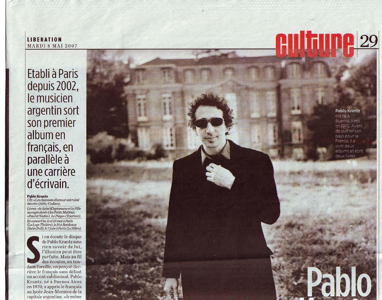 Diario Liberation, Francia, 2007 (1)