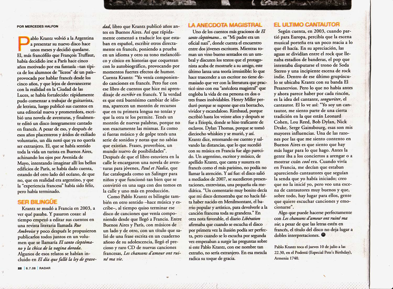 Diario Pagina12, Argentina, 2008 (2)