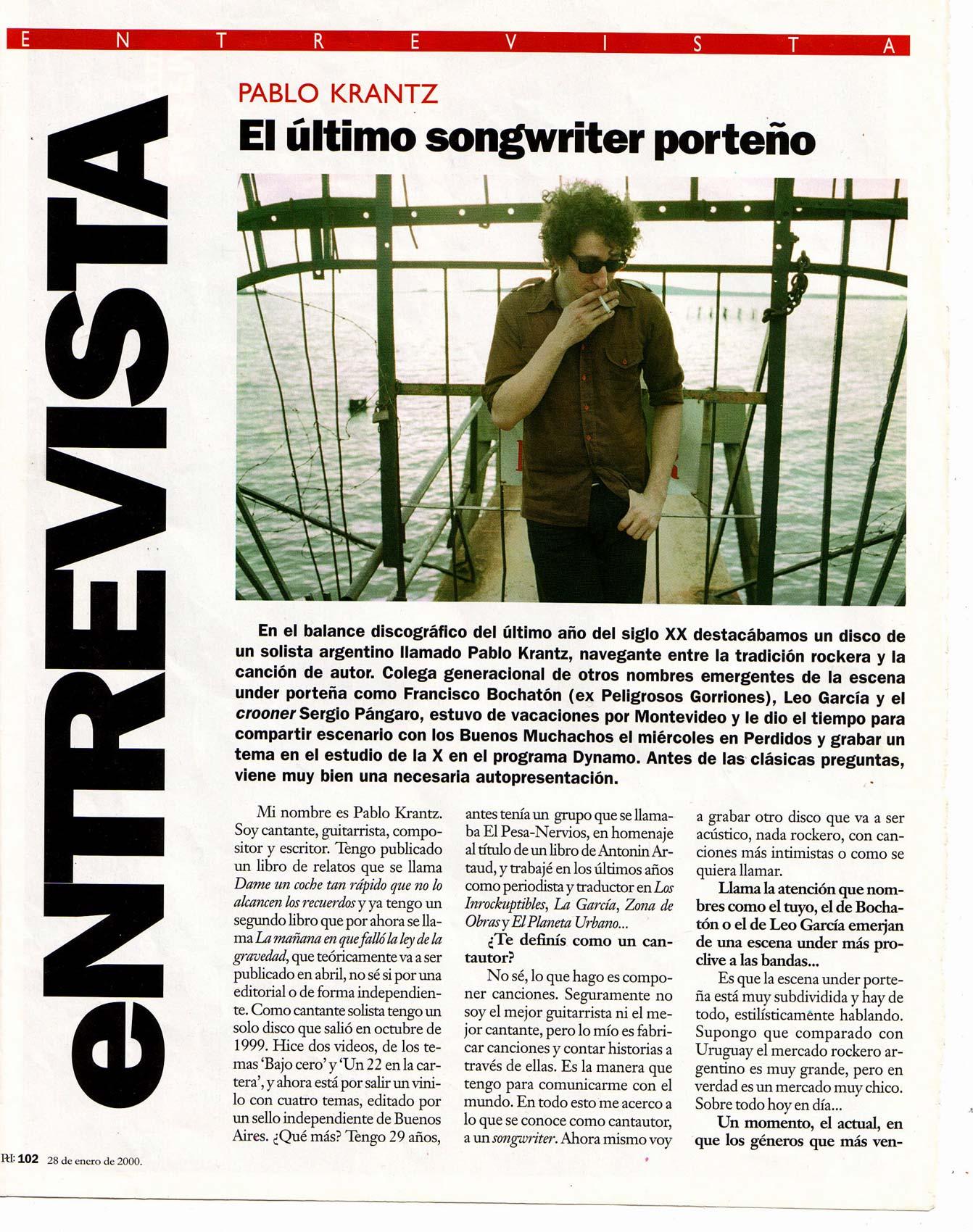 Revista Posdata, Uruguay, 2000