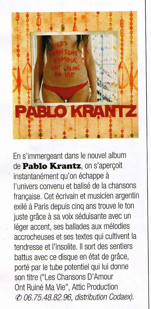 Revista RocknFolk, Francia, 2007