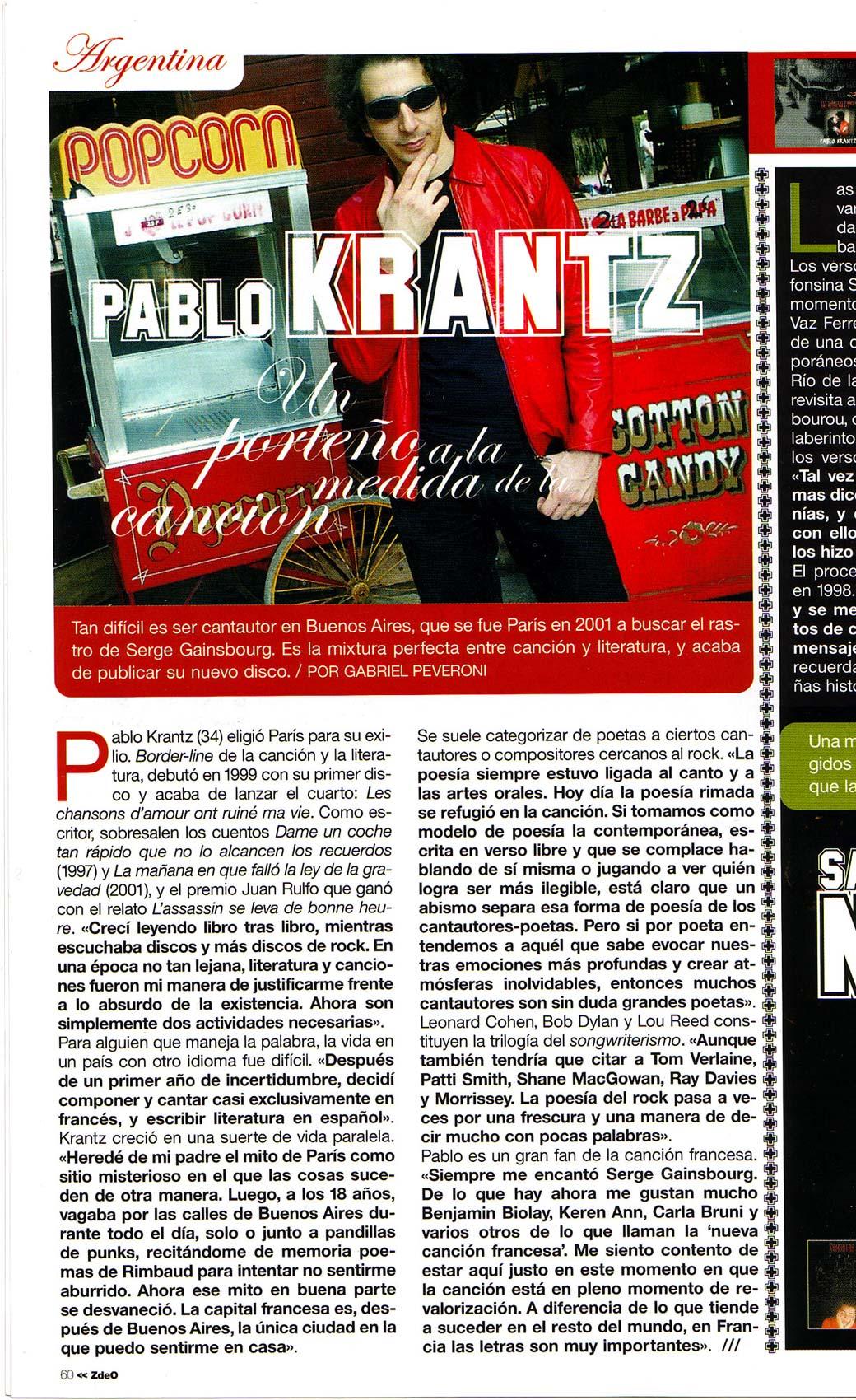 Revista Zona de Obras, Espana, 2004