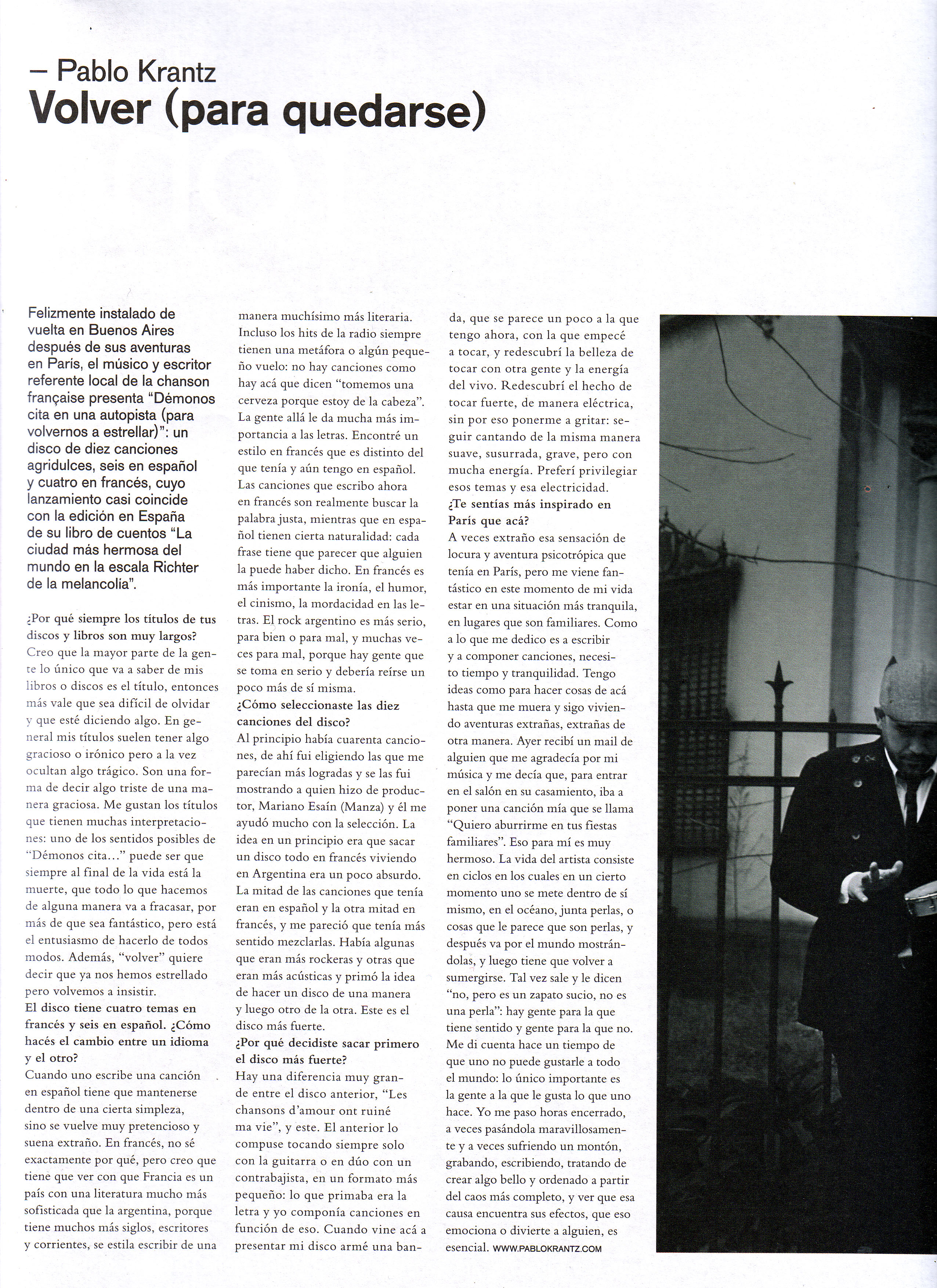 Revista Dmag. Argentina, 2011 parte 1