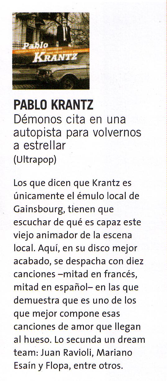 Revista Los Inrockuptibles, Argentina, 2011
